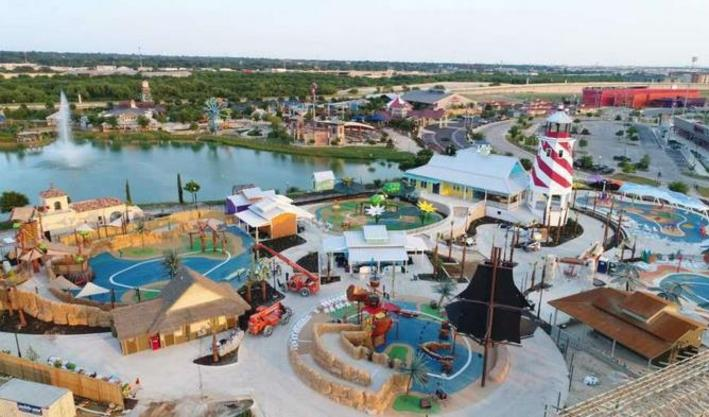 Waterpark for people with disabilities